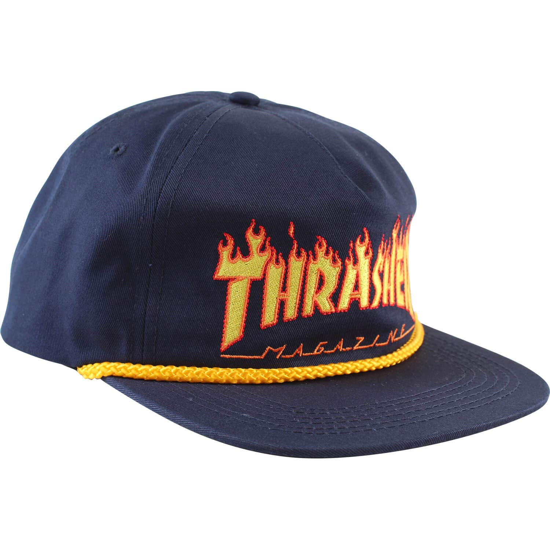 Thrasher Magazine Flame Rope - Gorro Ajustable: Amazon.es ...