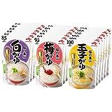 味の素 おかゆ 3種×6個(白がゆ6個、梅がゆ6個、玉子がゆ6個)