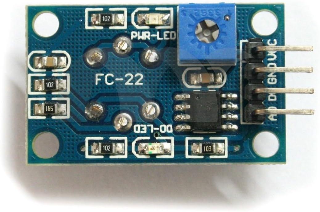 ALLPARTZ Waveshare MQ-135 Gas Sensor