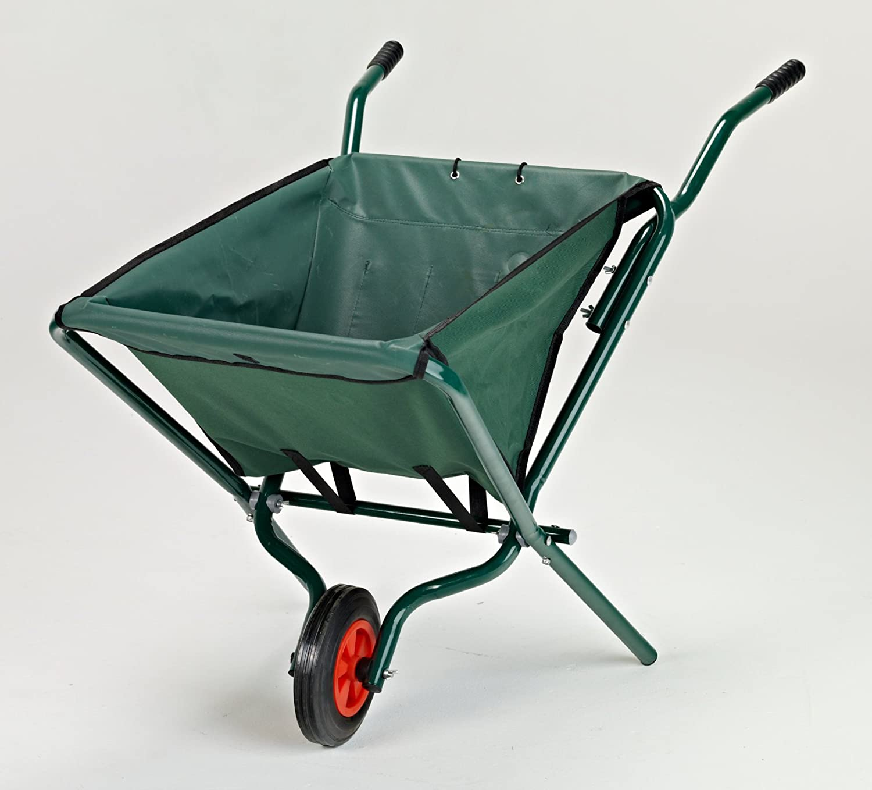 Folding Garden Wheelbarrow Foldaway To Store Tooltime®