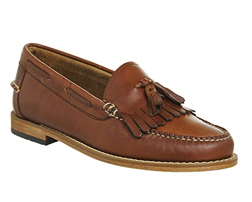 de220a4e0c1 G.H. Bass Bass Weejun Esther Pull Up Mid Brown Leather - 6 UK   Amazon.co.uk  Shoes   Bags