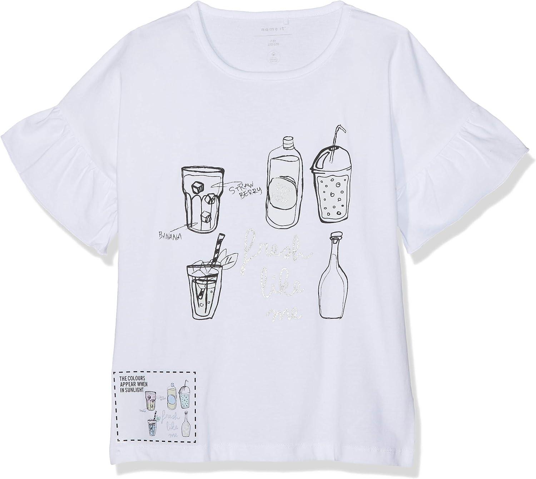 Name It Nkfdora SS Top Sun T-Shirt Bambina