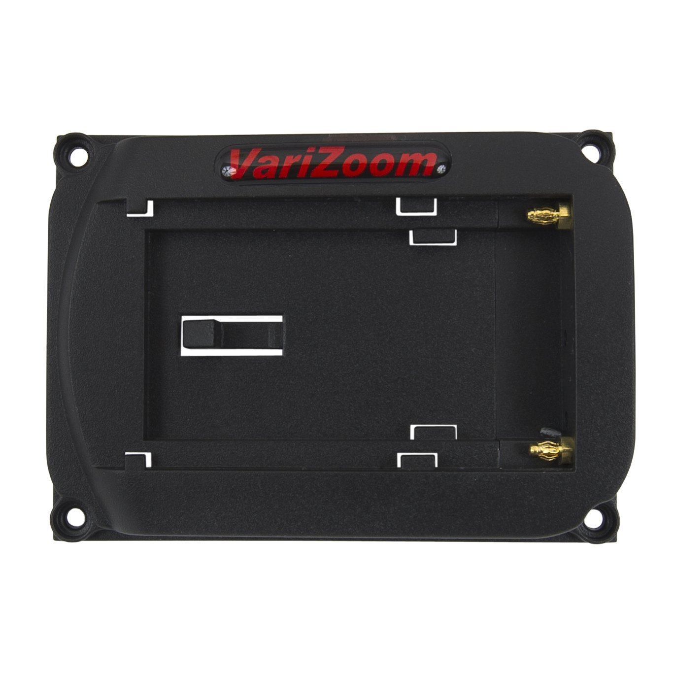 Varizoom VZMBPS Camcorder Battery Plate for M5 and M7 Monitors (Black) by VariZoom