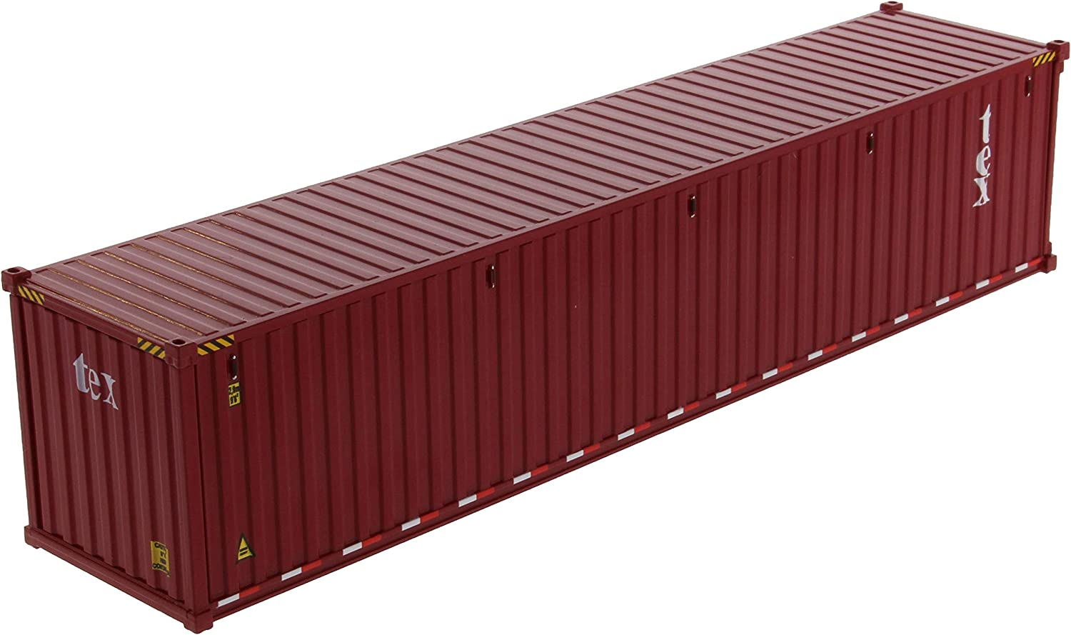 40 Dry Goods Sea Container TEX Burgundy Transport Series 1//50 Model by Diecast Masters 91027 A