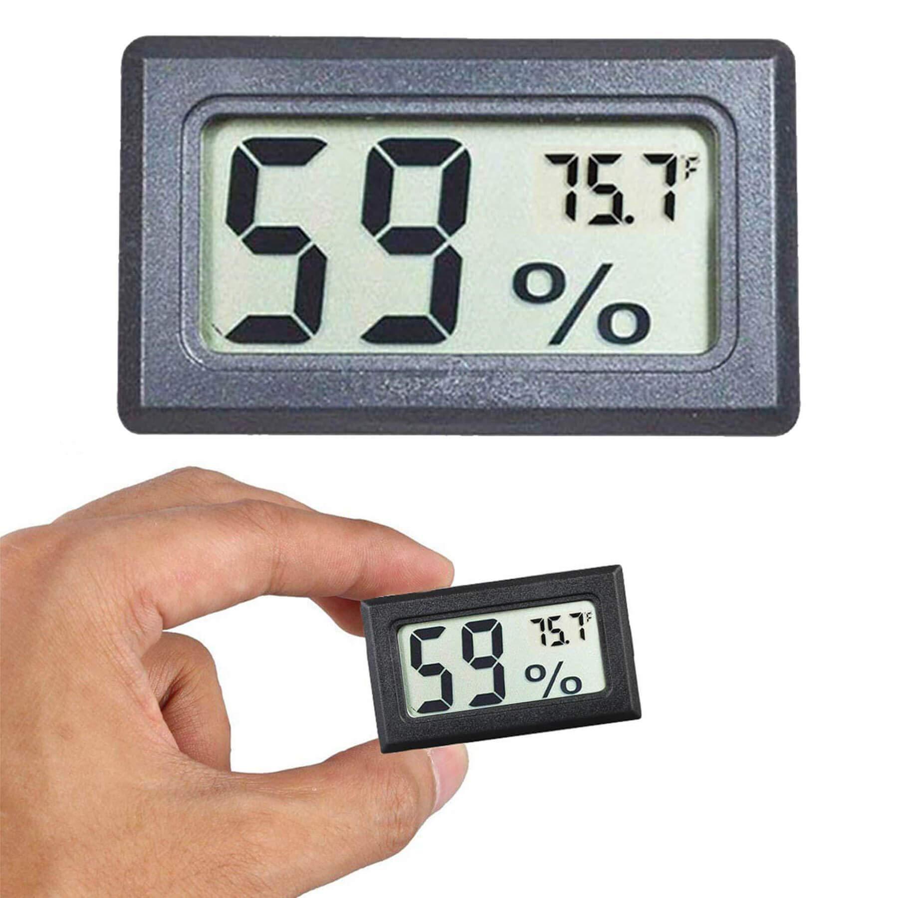 Goabroa Mini Hygrometer Thermometer Digital Indoor Humidity Gauge Monitor with Temperature Meter Sensor Fahrenheit (℉)
