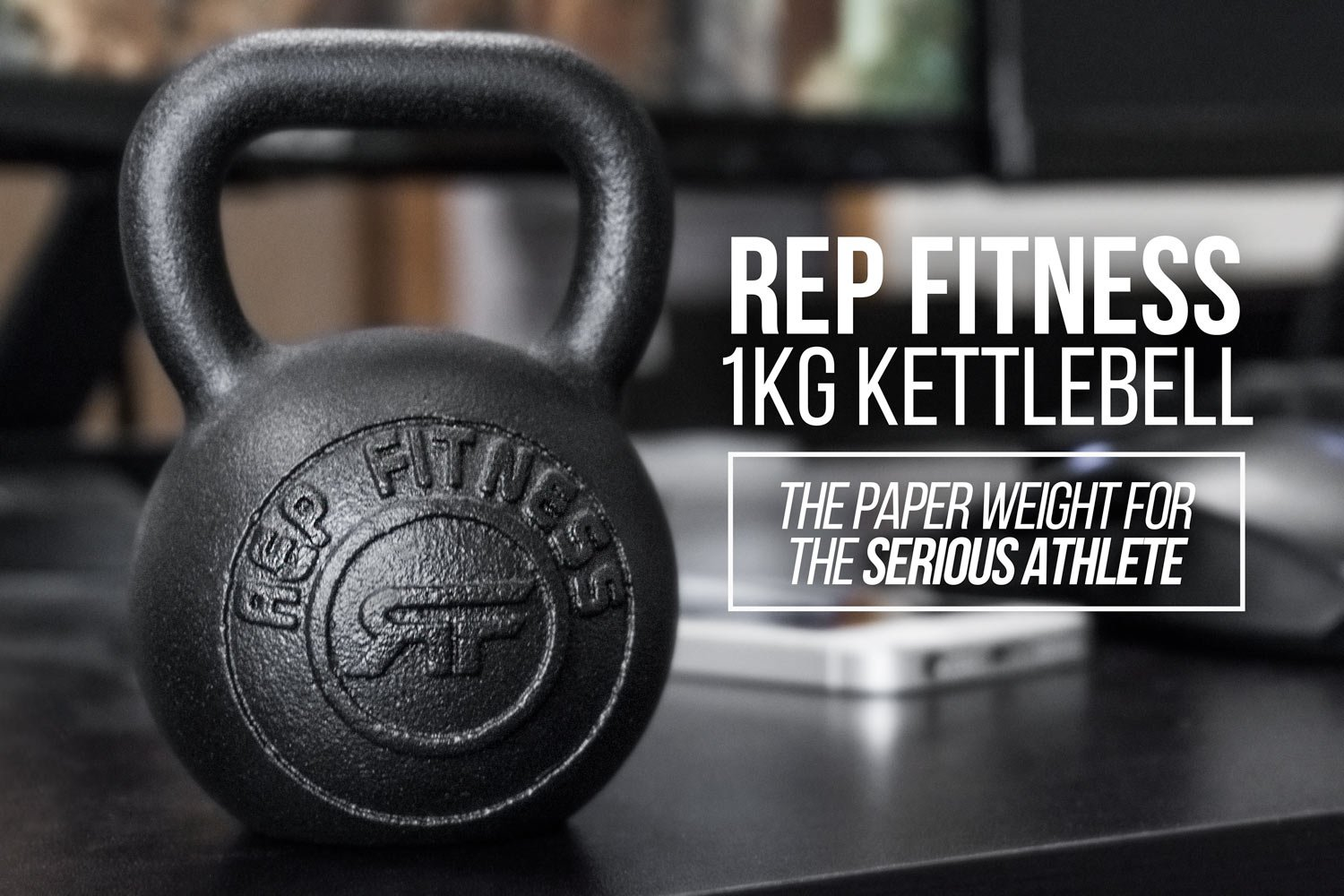 amazon com rep 1 kg kettlebell paperweight or gift item sports