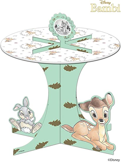 BAMBI PLASTIC TABLE COVER ~ Birthday Party Supplies Cloth Decorations Thumper