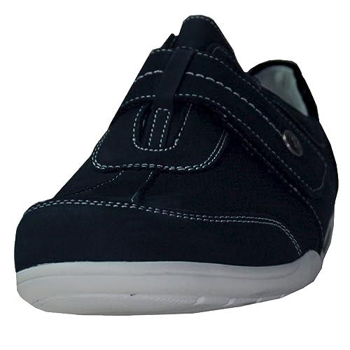 Waldläufer 813301-213-217 Myriam - Mocasines de Piel para Mujer Azul Azul Oscuro: Amazon.es: Zapatos y complementos