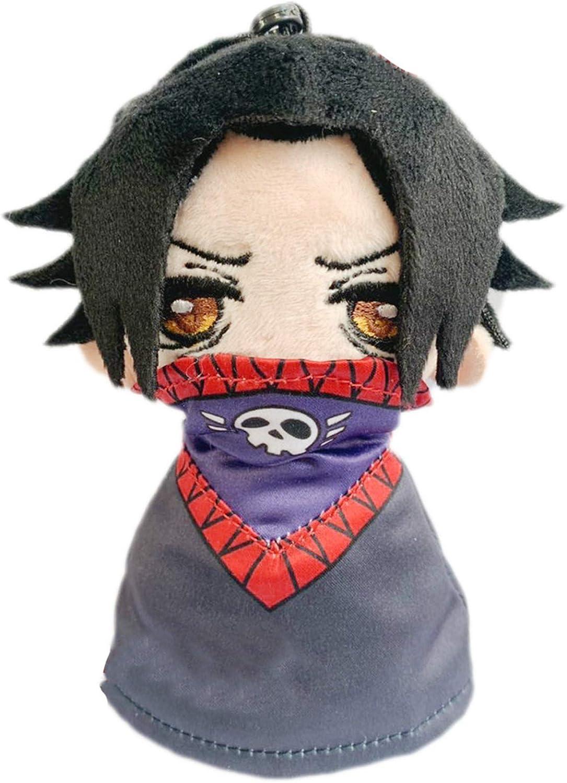 Anime HUNTER×HUNTER Hisoka Killua Zoldyck Plush Doll Stuffed Keyring Bag Pendent
