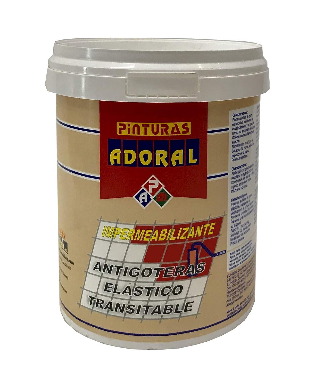 ADORAL - Pintura tela asfá ltica lí quida 750 ml. Blanco