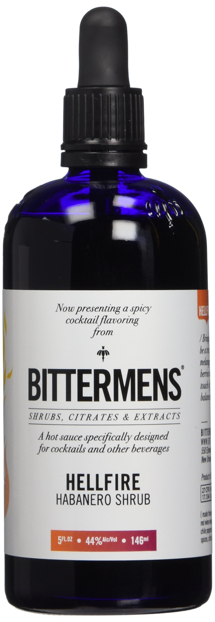 Bittermens Hellfire Habanero Shrub Cocktail Bitters – 4 oz