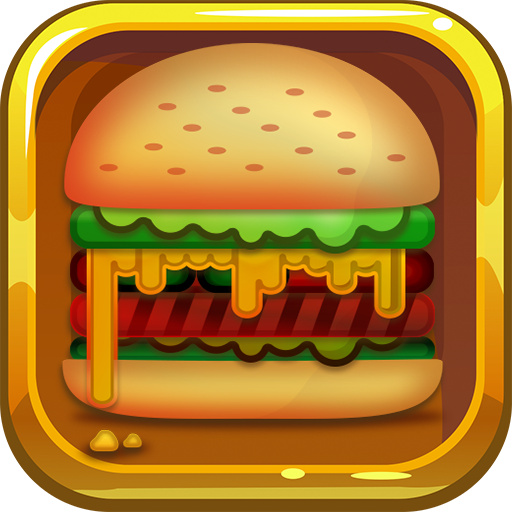 New Jewel - Burger Dash - Match 3 Game