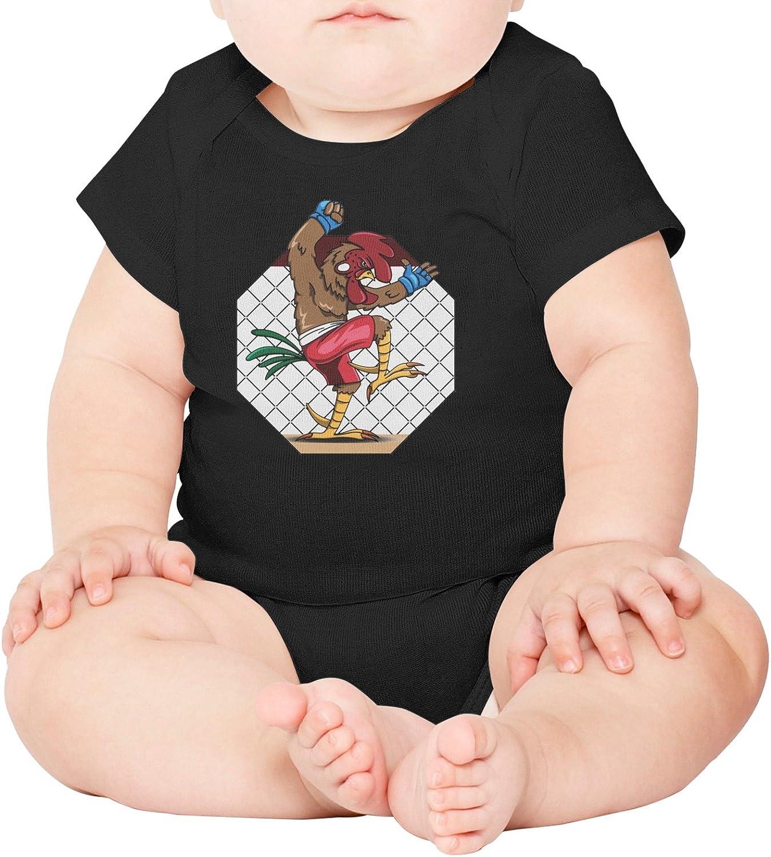 M2VIK9 Baby Romper Short Sleeve Clothes Jumpsuit Lineage Hen Bodysuit Playsuit Outfits