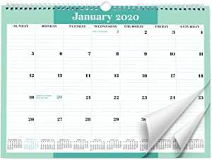 Sweetzer & Orange 2020 Calendar. 18 Month Office Wall Calendar 2020-June 2021 - Mint Business Design Monthly Planner, Daily Wall Calendars for Office Organization. 11.5 x 15 Inch Hanging Wall