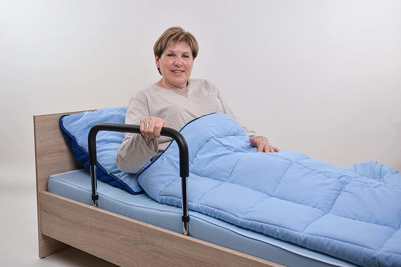Asa para la cama/ayuda para levantarse adecuada para camas con somier.