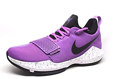 693cd34cde422 Amazon.com | Nike Mens Pg 1 Hight Top Lace Up Running Sneaker ...