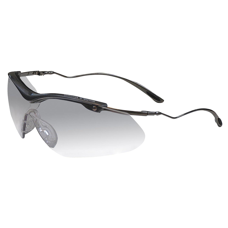 Jackson Safety 20380 V30 Nemesis CSA Safety Glasses, Smoke Mirror Lenses with Black Frame (Pack of 12) by Jackson Safety B008D7ZZHK