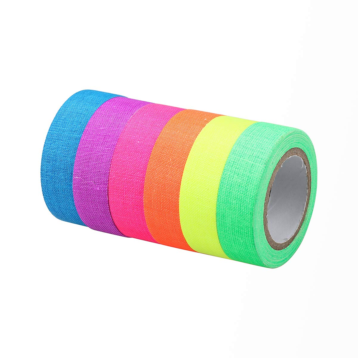 Weiye Glow Tape–Neon Glow in The Dark Ruban adhésif–Fluo et Lumineux réfléchissant Tape-Safety Lumineux pour salles de Noir et Les Zones Sombres
