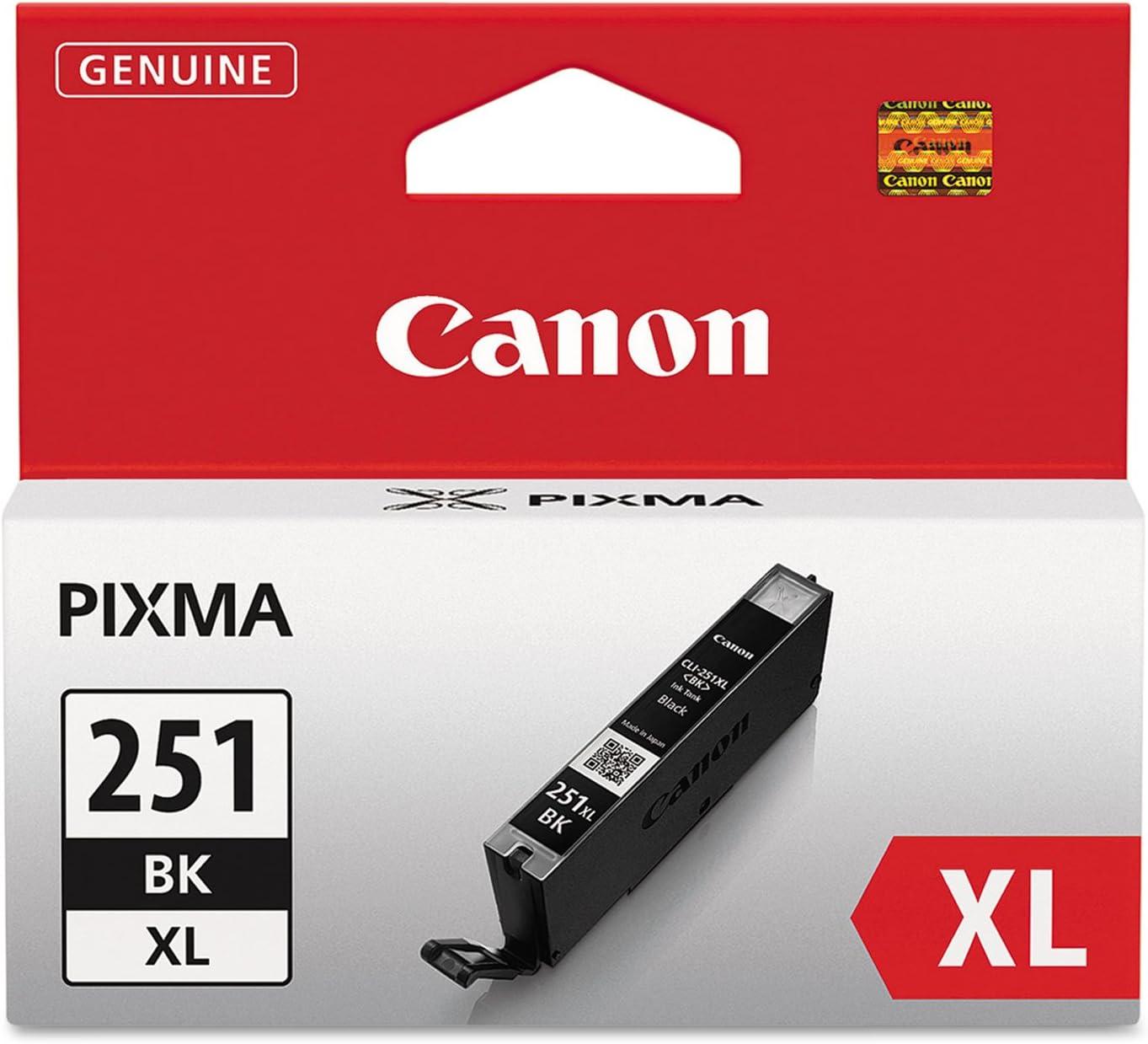 Canon CLI-251XL Black 6448B001 Ink Tank GENUINE NEW