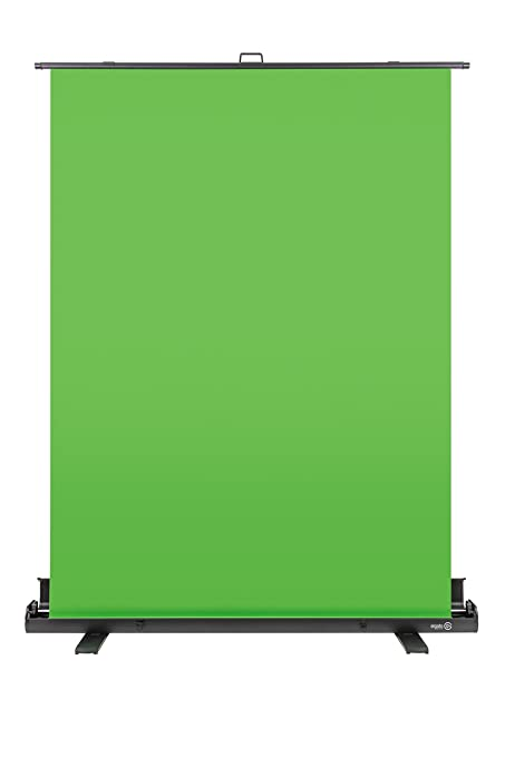 elgato green screen  Elgato Green Screen Collapsible Chroma Key Panel for Background ...