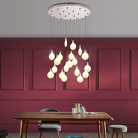Amazon.com: frtej Nordic lámpara de araña, Firefly – Lámpara ...
