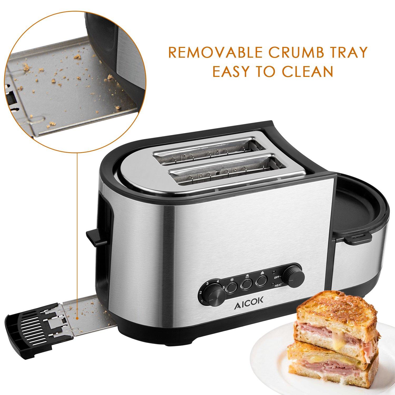 aicok Pan eléctrica, Máquina de pan, sin gluten todo el ...