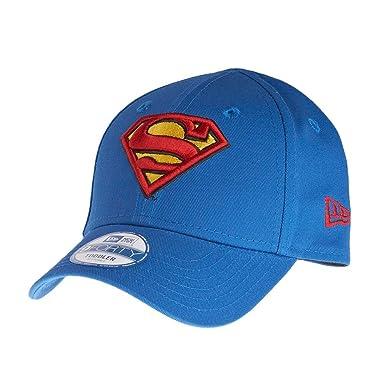4bc6716780d New Era 9Forty KIDS Cap - SUPERMAN royal  Amazon.co.uk  Clothing