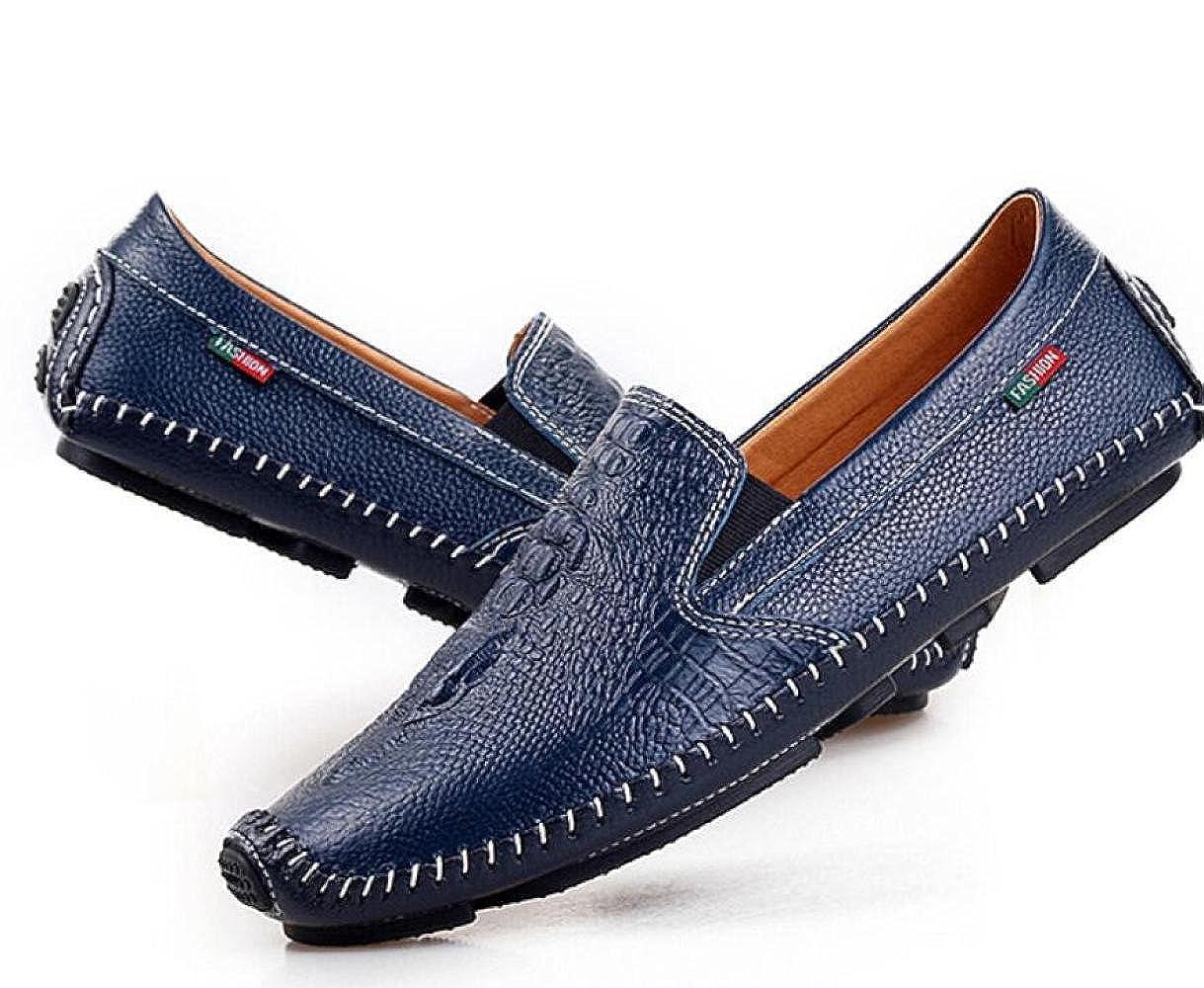 Männer Erbsen Fahr Schuhe Mode Leicht Fahr Erbsen Schuhe Freizeitschuhe Blau e261f4