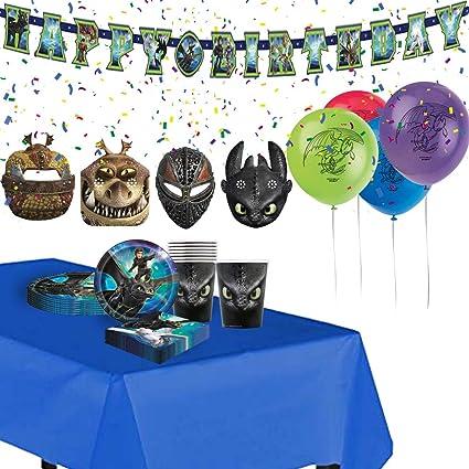 Amazon.com: Cómo entrenar a tu dragón suministros de fiesta ...