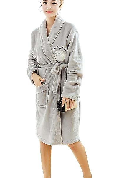 Amazon.com: Bong comprar de la mujer Cute Totoro suave Comfy ...