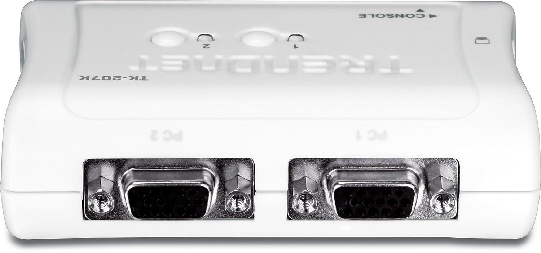Trendnet 2-port usb kvm switch and cable kit, tk-207k: amazon. Ca.