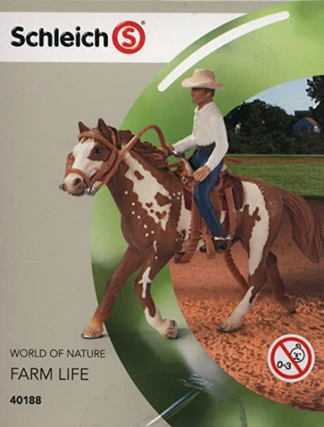 SCHLEICH WORLD OF NATURE FARM LIFE HORSE RIDING SETS HORSE TOYS /& FIGURES SETS