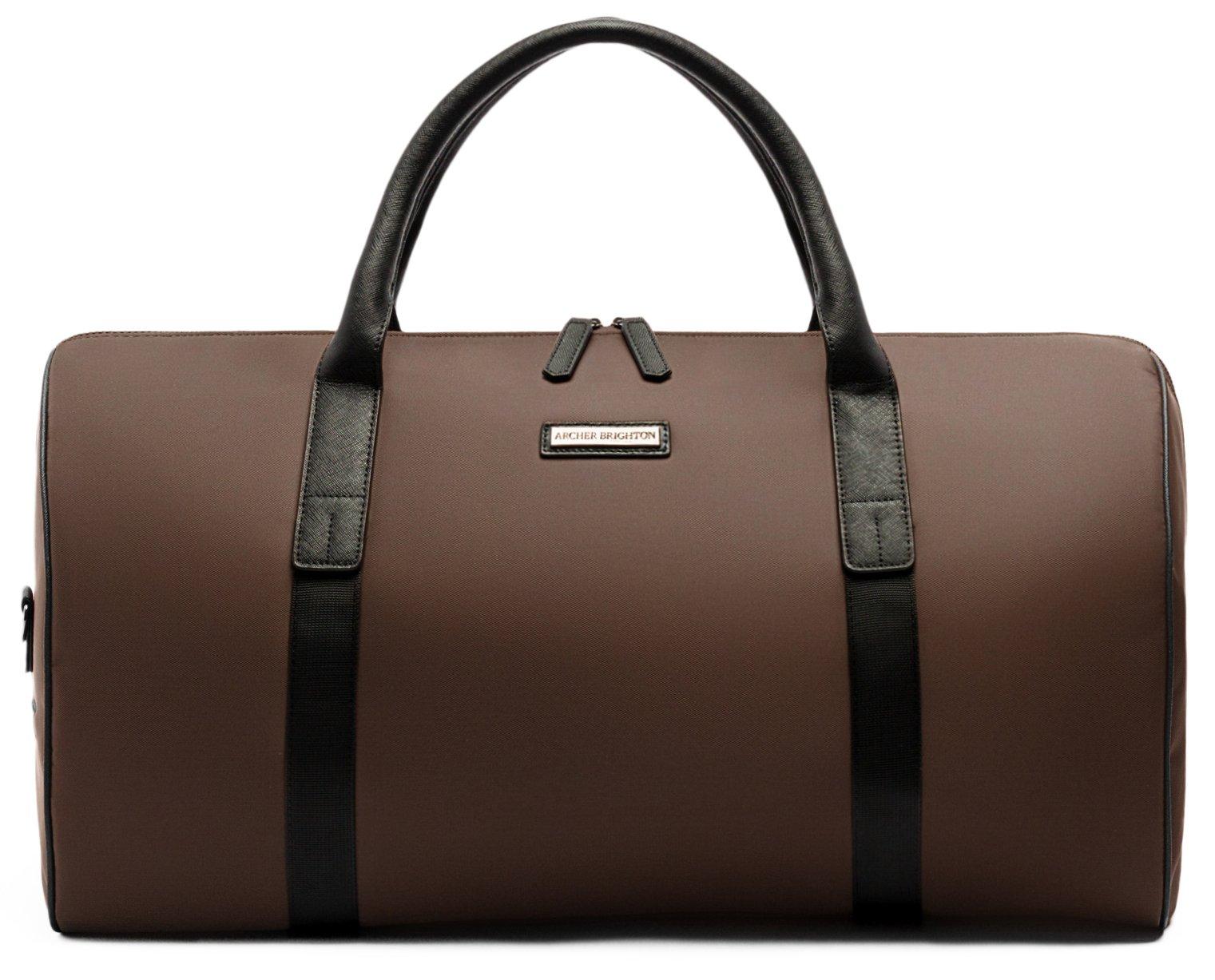 Archer Brighton Midway Weekender Duffle Bag (Russet)