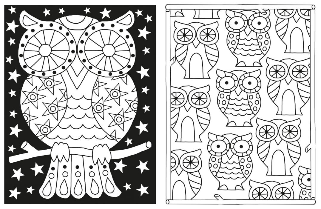 Das Coole Muster Malbuch Malbücher Und Blöcke Amazonde Jessie