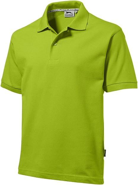 Slazenger - Polo de algodón (para el ocio, tenis o golf, en 23 colores, con tallas S, M, L, XL y XXL): Amazon.es: Deportes y aire libre