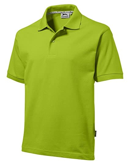 premium selection e11fc f1bb9 Slazenger Polo Hemd Poloshirt aus 100% Baumwolle für Freizeit, Tennis oder  Golf in 11 Farben und den Grössen S, M, L, XL, XXL und 3XL