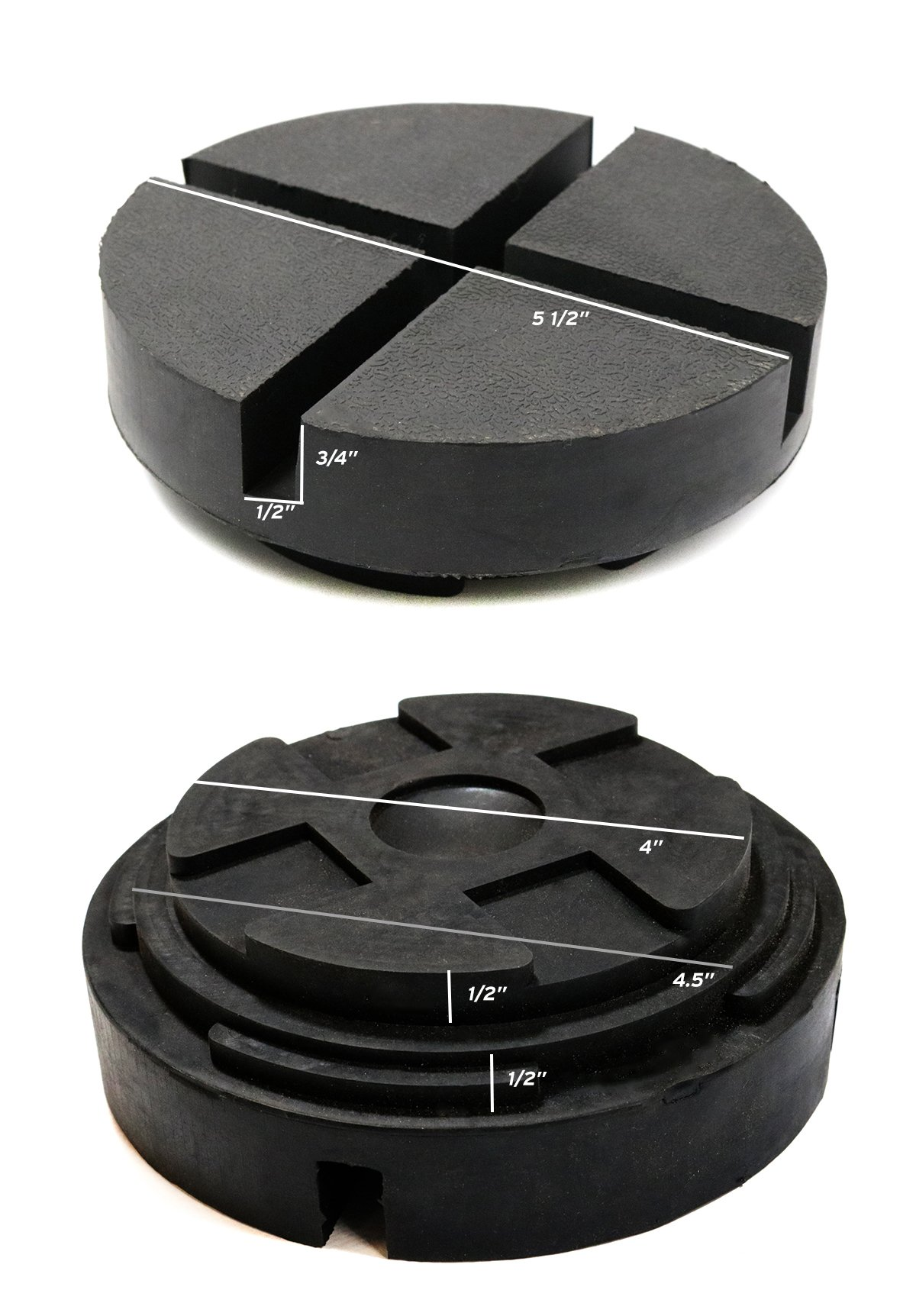 Single Extra Large Universal Polyurethane Floor Jack Pad Adapter by TMB Motorsports (Image #7)
