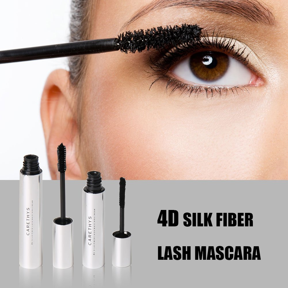 4d Silk Fiber Eyelash Mascara Waterproof Mascara Creamwashable