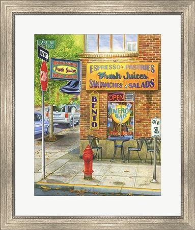 Amazon.com: Portland Neon Treats by Mary Irwin Framed Art Print Wall ...
