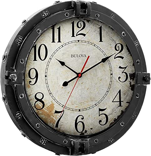 Bulova C4823 Navigator Wall Clock