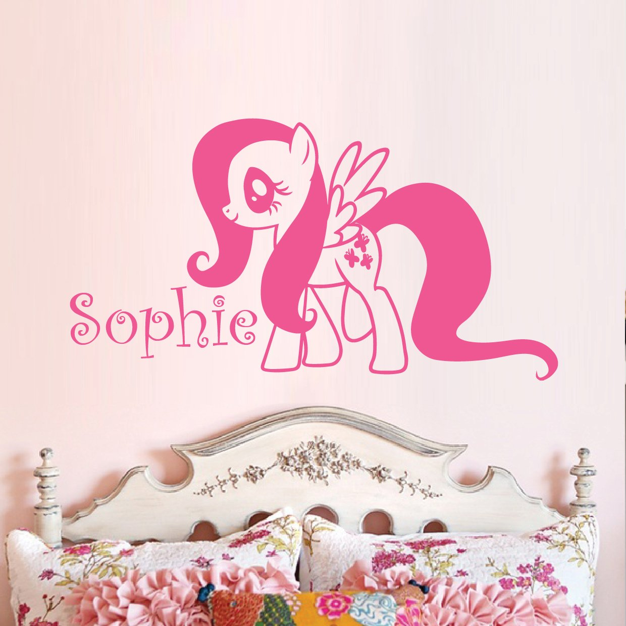 My Little Pony, Fluttershy Vinyl Wall Decal: Amazon.co.uk: Kitchen U0026 Home Part 46