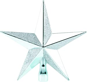 Clever Creations Teal Star Christmas Tree Topper - Festive Christmas Decor - Sparkling Shatter Resistant Plastic - 8 inch Tall - Perfect for Any Size Christmas Tree