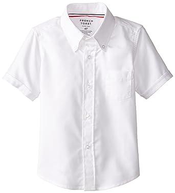 Amazon.com: French Toast Boys' Short Sleeve Oxford Dress Shirt ...