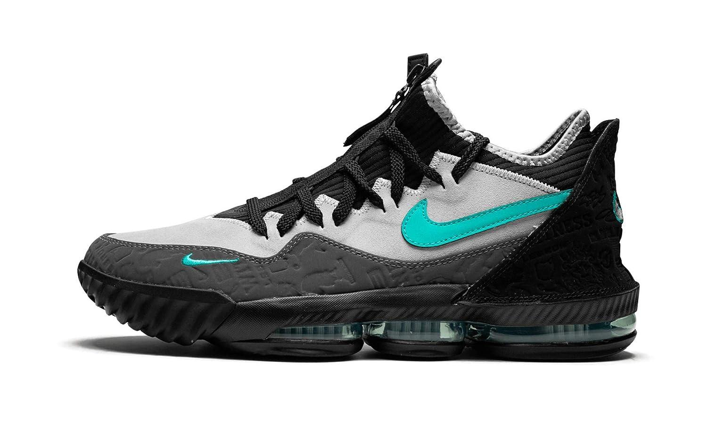 the latest c9d49 627f1 Amazon.com | Nike Lebron 16 Low (Black/Wolf Grey/Clear Jade ...