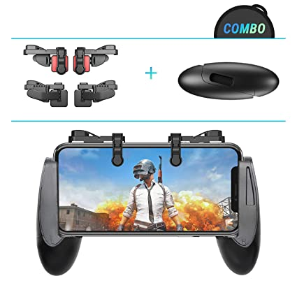 Elite Edition Leuna Pubg Mobile Game Controller Grip Lr Game Triggers Fire Aim Buttons