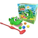 Gator Golf  - Putt The Ball into The Gator's Mouth to Score Game by Goliath, 31240, Multicolor