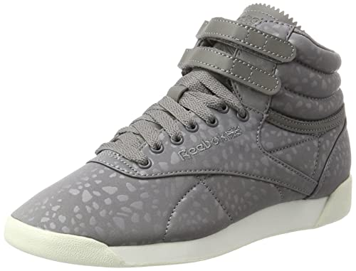 22d3ce3c504a Reebok Women s Freestyle Hi Lux Txt Top Trainers  Amazon.co.uk ...