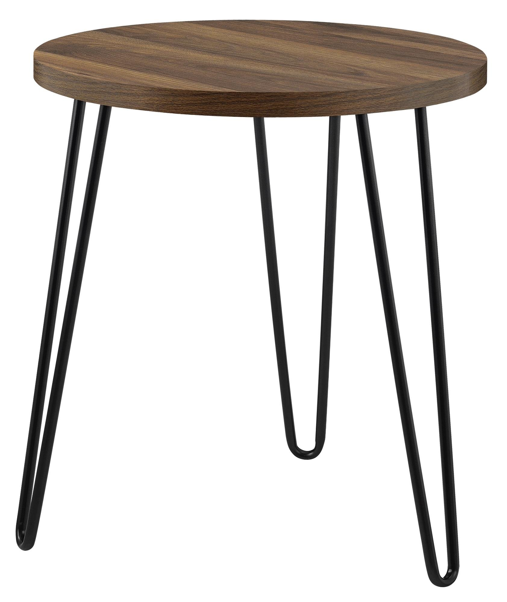 Ameriwood Home 3613222COM Owen Retro End Table, Walnut