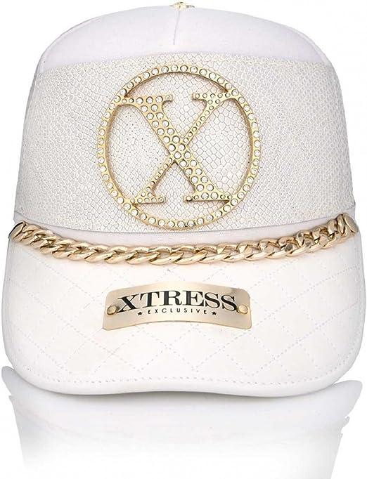Xtress Exclusive Gorra Blanca de Diseño para Hombre y Mujer ...