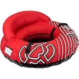 "Winterial Inflatable Snow Sled Tube - Deluxe 50"" Inflatable Snow Sled for Kids and Adults with Shoulder Strap and Padded…"